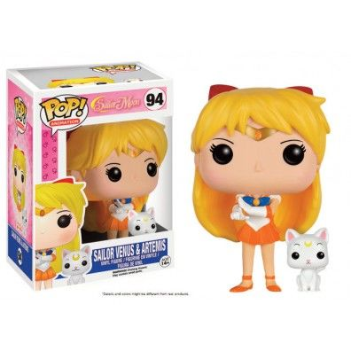 Sailor Venus & Artemis Pop! Vinyl Figuur