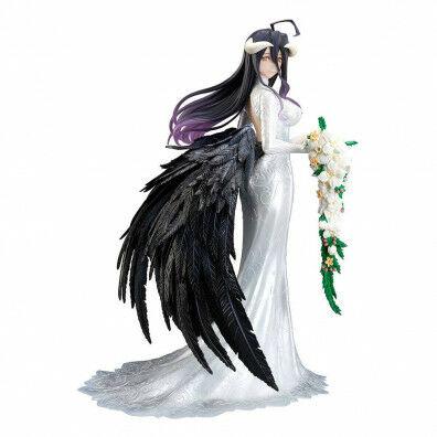 Overlord III PVC Statue 1/8 Albedo Wedding Dress Version 23 cm
