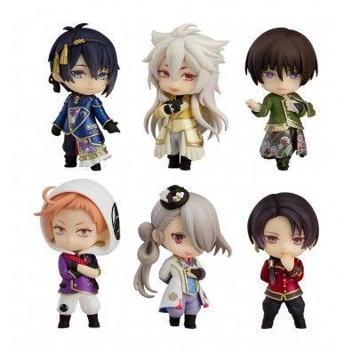 Touken Ranbu The Musical Mini Figures Nendoroid Petite 6-Set -Atsukashiyama Ibun- 7 cm