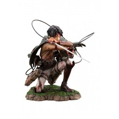 Attack on Titan ARTFXJ Statue 1/7 Levi Fortitude Ver. 17 cm