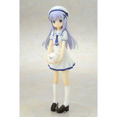 Is the Order a Rabbit PVC Statue 1/7 Chino Summer School Uniform
