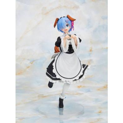 Re:Zero Coreful PVC Statue Rem Memory Snow Dog Ver. 23 cm
