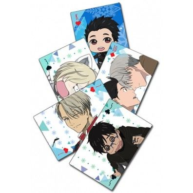 Yuri on Ice Playing Cards
