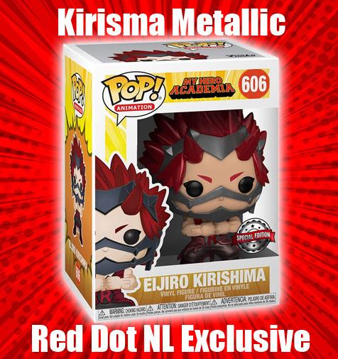 Kirishima Metallic Red Dot NL Exclusive